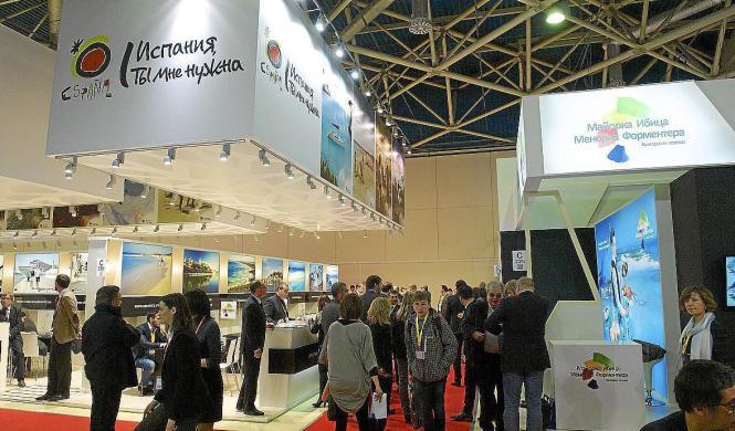Auch im vergangenen Jahr nahm Turespaña an der russischen Tourismusmesse in Moskau teil.