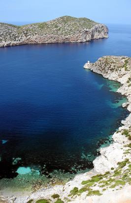 Der Naturhafen von Cabrera. Der Archipel ist seit 1991 Nationalpark.