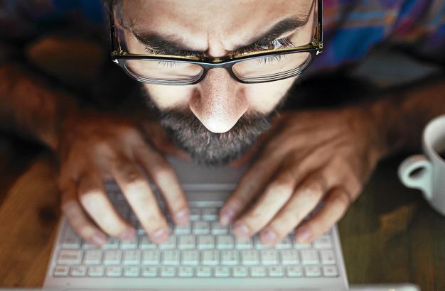 Im Internet kann man vor Hackern eigentlich nie sicher sein.
