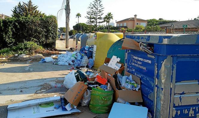 Den Nachbarn ein Dorn im Auge: In Las Palmeras stapelte sich der Müll.