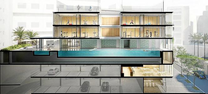 Ein Fitnessstudio mit Pool und Parkhaus soll auf dem Gelände S'Aigo Dolça entstehen.
