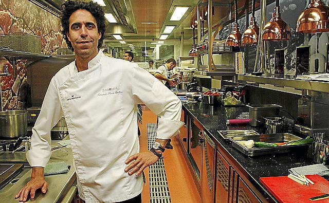 Sternekoch Fernando Pérez Arellano führt das Restaurant Zaranda.
