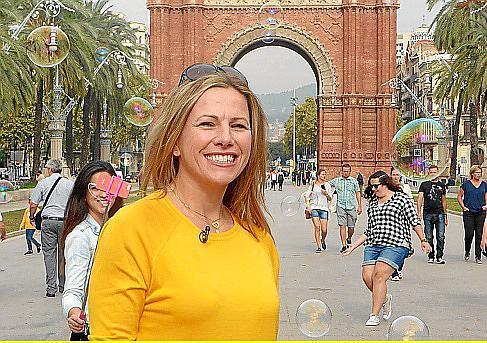 Andrea Grießmann lernt die Stadt ihrer Kindheit neu kennen.