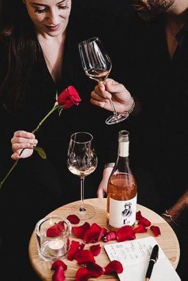 """Der Rosé-Wein """"Bonobo"""" wurde für Fera entwickelt."""
