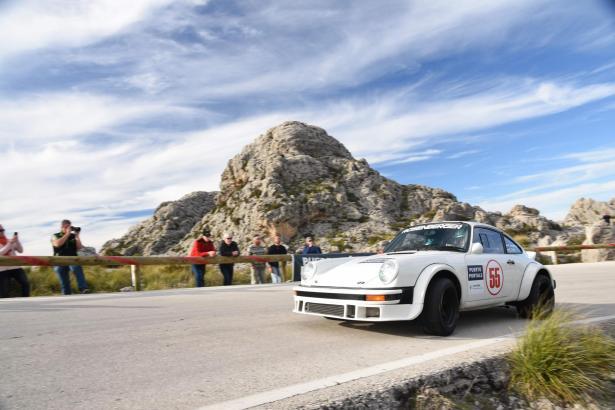 Im vergangenen Jahr wurde Kris Rosenberger in seinem Porsche Gesamtsieger der Rallye.