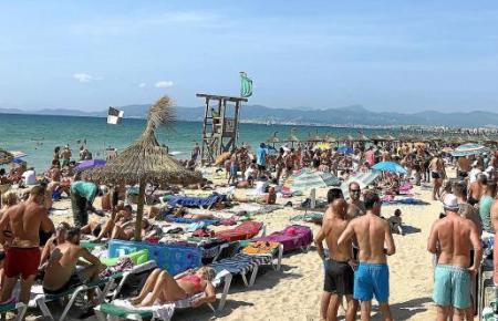 Die Mallorca-Buchungen sind in diesem Jahr rückläufig.