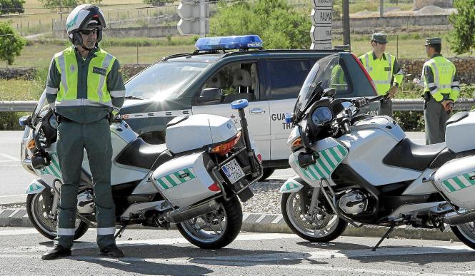 Die Guardia Civil auf Mallorca ermittelt wegen Sachbeschädigung.
