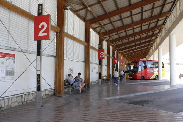 Der Busbahnhof von Inca soll im März modernisiert und ausgebaut werden.