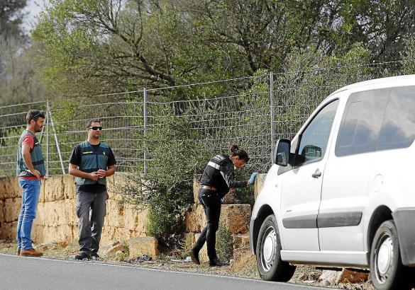 Spurensuche am Tatort auf Mallorca.