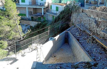 Der Bau eines Pools verärgert die Anwohner von Cala Figuera.