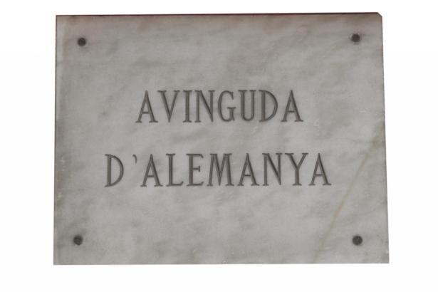 Alles bleibt beim alten: Die Avinguda d'Alemanya wird nicht umbenannt.