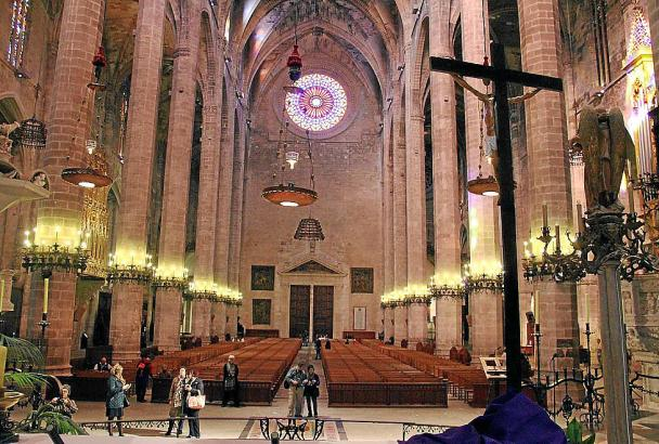 Die Kathedrale von Mallorca ist eines der Wahrzeichen von Palma.