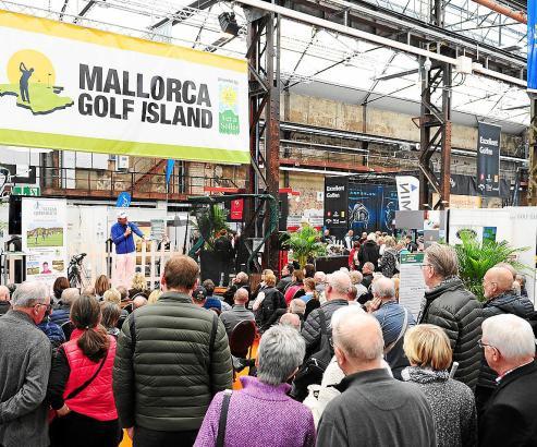 Schon seit langer Zeit ist Mallorca regelmäßig auf der Rheingolf-Messe präsent. Hier ein Bild aus dem vergangenen Jahr.