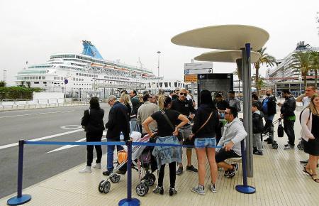 Der Hafen von Palma hat sich zum wichtigsten im Mittelmeer entwickelt. Innerhalb von zehn Jahren hat sich die Anzahl der Kreuzfa