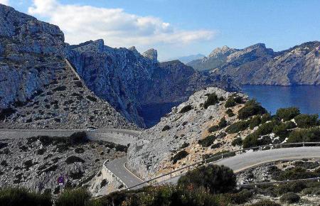 Was für eine Landschaft! Blick auf die Formentor-Halbinsel.