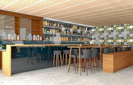 Zu dem Hotel soll eine Bar auf Weltniveau gehören.