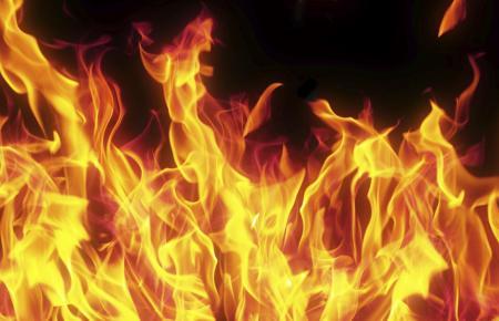 Es brannte lichterloh.
