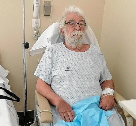 Bartomeu Ferrà liegt derzeit im Krankenhaus.