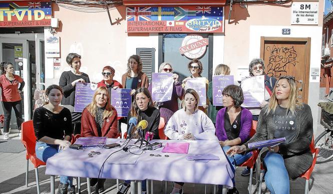 Rund um den Frauentag am 8. März gibt es zahlreiche Aktionen auf Mallorca. In Palma wird eine Demo stattfinden, die Frauenbewegu