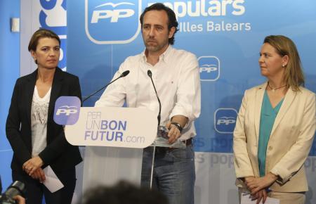José Ramón Bauzá am Abend nach der verlorenen Mallorca-Wahl im Mai 2015.