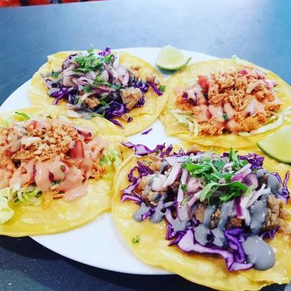 Typische Tacos.