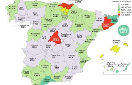 Aktuelle Daten des Entwicklungsministeriums zeigen, dass Hauskauf auf den Balearen dreimal so teuer ist wie in der günstigsten R