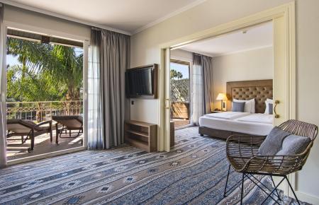Alle Zimmer des Hotels wurden aufwendig renoviert und neu gestaltet.