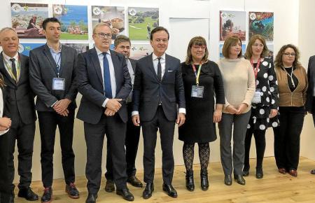 Balearen-Politiker und Reiseveranstalter trafen sich auf der ITB in Berlin.