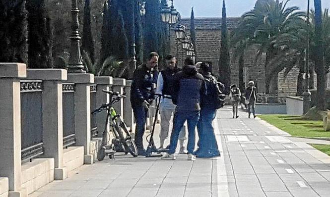 Der Unfall ereignete sich auf dem Paseo de Mallorca.