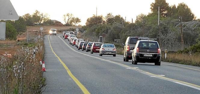 Wer es eilig hat, sollte diese Straße momentan meiden.