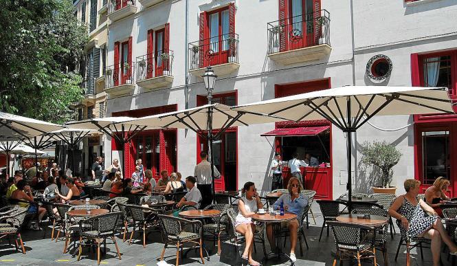 Das Hotel am Rathausplatz in Palma.