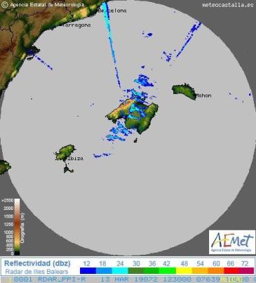 Blick auf die Wetterkarte vom Mittwoch.