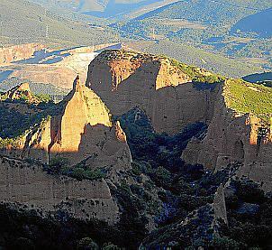 In der Römerzeit wurde hier Gold abgebaut.