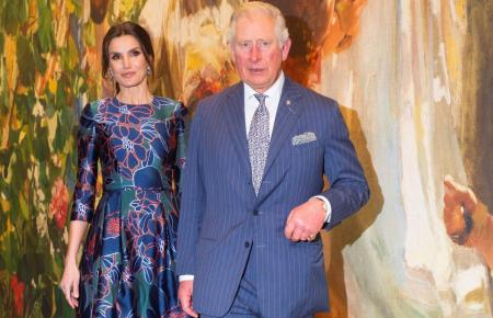 Letizia und Prinz Charles in London.