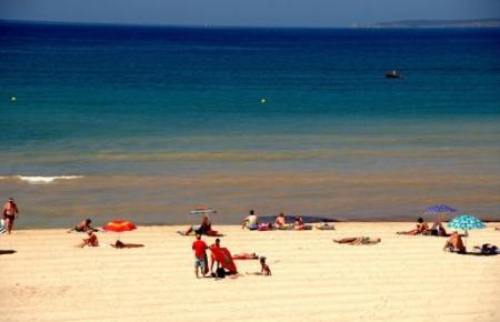 So schön: die Playa de Palma.