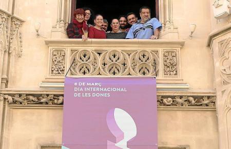 Am Weltfrauentag am 8. März zeigte Mallorcas Consell Flagge für Frauenrechte. Die Inselregierung arbeitet dafür unter anderem mi