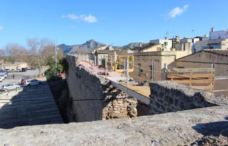 Im September vergangenen Jahres brach ein Teil der Stadtmauer ein.