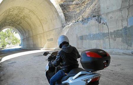 Wird für drei Tage komplett gesperrt: der Tunnel zwischen Estellencs und Andratx.