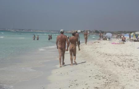 FKK-Strand auf Mallorca.