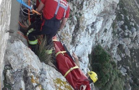 Das Opfer auf Mallorca musste mit einem komplizierten Manöver geborgen werden.