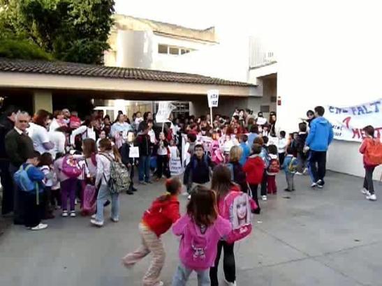 Schulkinder auf Mallorca.