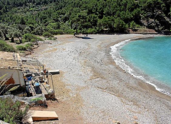 Die Cala Tuent ist eine idyllische Bucht in der Tramuntana.