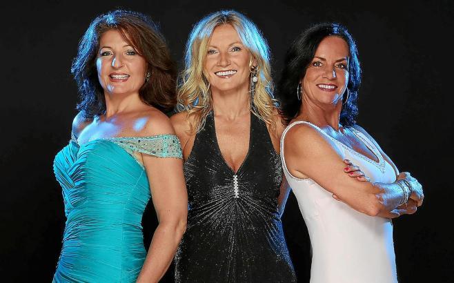 Jazz a cappella: Gaby Goldberg, Miëtt Molnar und Caren Schweitzer-Faust (v. l.) treten als Gesangstrio Girl Talk auf.