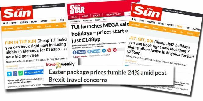 In britischen Medien ist ein Preiskampf für Urlaubsangebote auf Mallorca ausgebrochen.