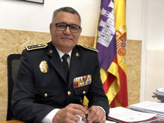 Josep Palouzié steht Palmas Lokalpolizei vor.