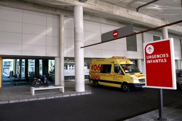 Das Krankenhaus Son Espases auf Mallorca.