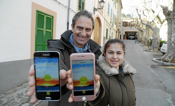 """Die Smartphone-App """"Watch About"""" bietet verschiedene Touren auf der Insel als Audioguide an."""