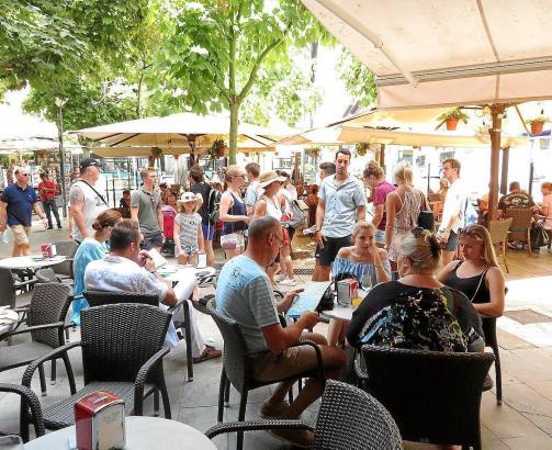 Restaurant auf Mallorca.
