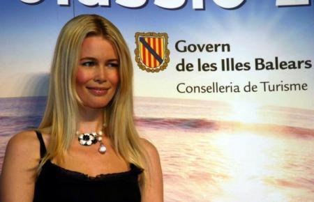 Claudia Schiffer vor einigen Jahren als Balearen-Botschafterin auf der ITB Berlin.