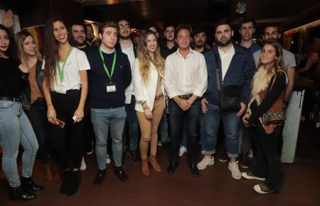 Vox-Anhänger bei der Veranstaltung in Palma.